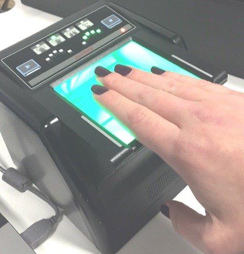 electronic fingerprinting